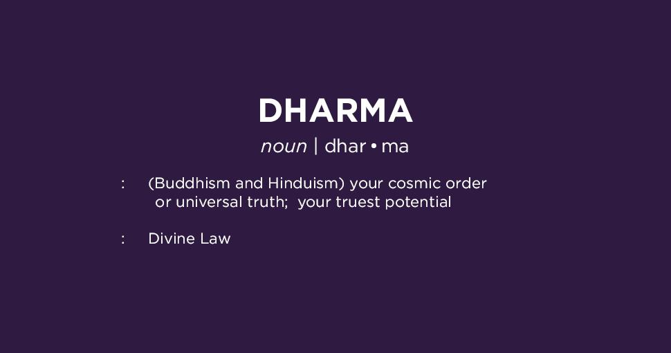 Dharma Definition